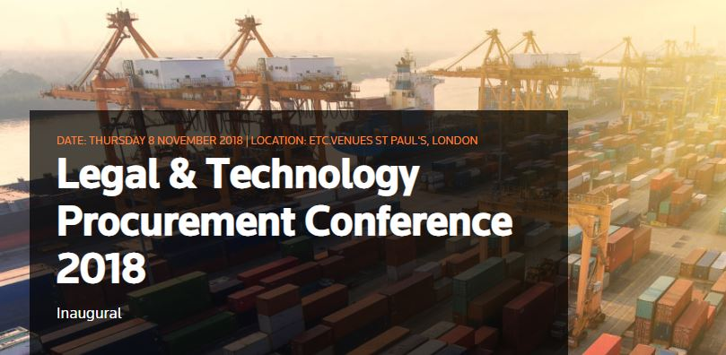 Legal And Technology Procurement Conference 2018