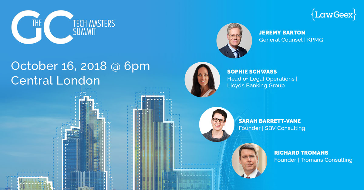 GC Tech Masters Summit London – Panel Discussion
